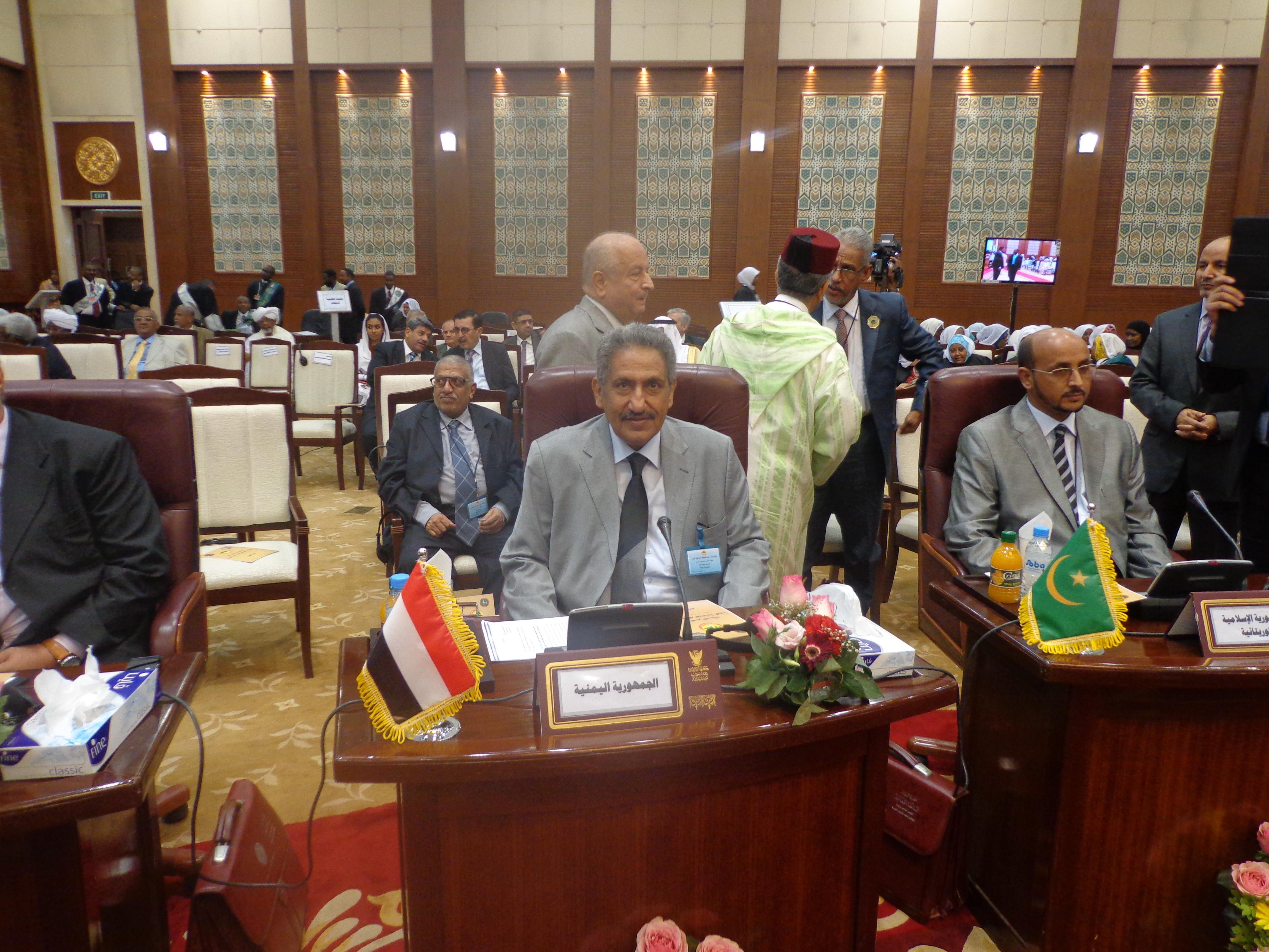 DSC00455 نائب الرئيس السوداني يفتتح المؤتمر الثالث للمحاكم العليا بمشاركة اليمن