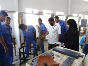 DSC02014 300x224 صنعاء : تدشين وإفتتاح عدداً من المشاريع التنموية في المعاهد المهنية
