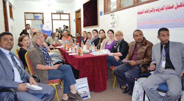 DSC 8154(1)   هامر فورم الألمانية وسياج تتفقان على التعاون لعلاج الأطفال ضحايا الألغام في اليمن