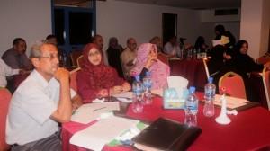 MG 8582 300x168 عدن : حلقة نقاش عن تحديات ومعوقات دور النساء في المؤسسات الحكومية