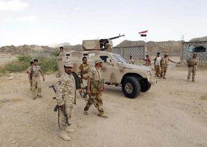 army0608 300x214 مقتل 9 جنود يمنيين في هجوم بسيارة مفخخة في حضرموت